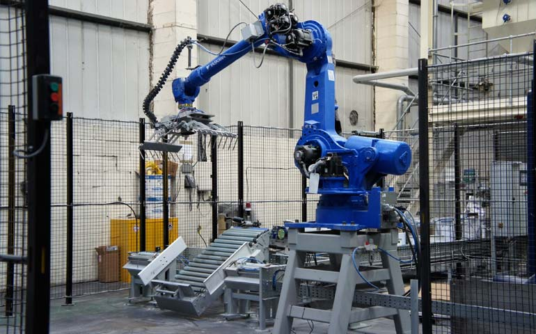 Improving efficiency with robotic automation